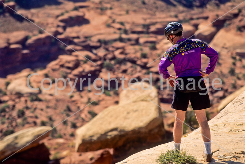 Mountain biker(s) on White Rim Trail - 339 - 72 ppi