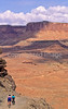 Mountain biker(s) on White Rim Trail - 398e - 72 ppi