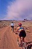 Mountain biker(s) on White Rim Trail - 369e - 72 ppi