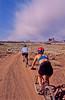 Mountain biker(s) on White Rim Trail - 369e - 72 ppi