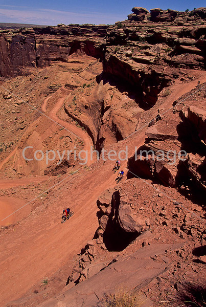 Mountain biker(s) on White Rim Trail - 358 - 72 ppi