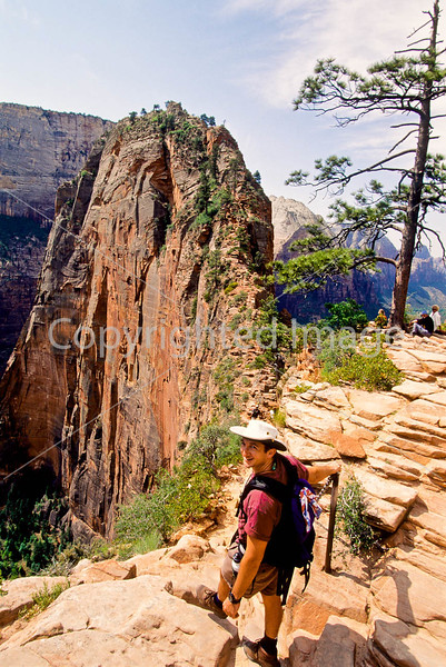 Hikers in Zion National Park, Utah - S11 - 141 - 72 ppi