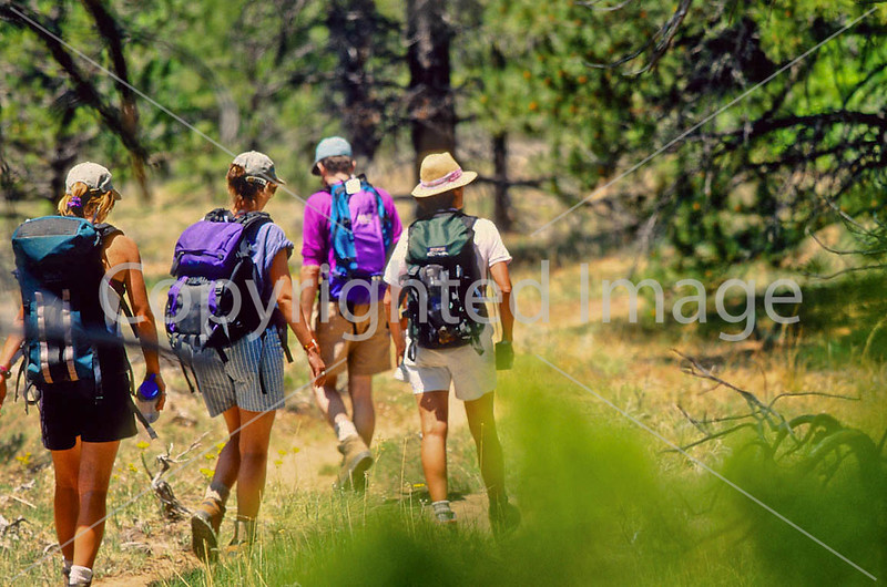 Hikers in Zion National Park, Utah - S11 - 148 - 72 ppi
