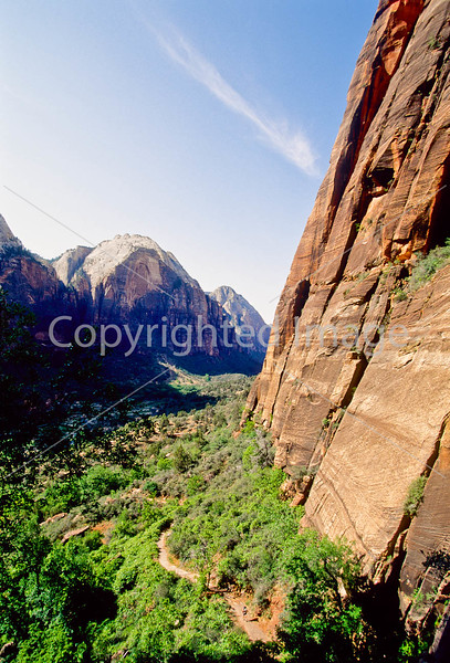 Hikers in Zion National Park, Utah - S11 - 197 - 72 ppi
