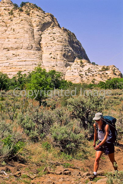 Hikers in Zion National Park, Utah - S11 - 80 - 72 ppi