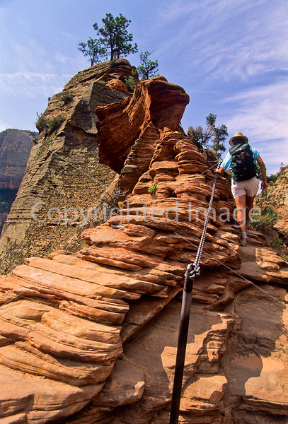 Hikers in Zion National Park, Utah - S11 - 43 - 72 ppi