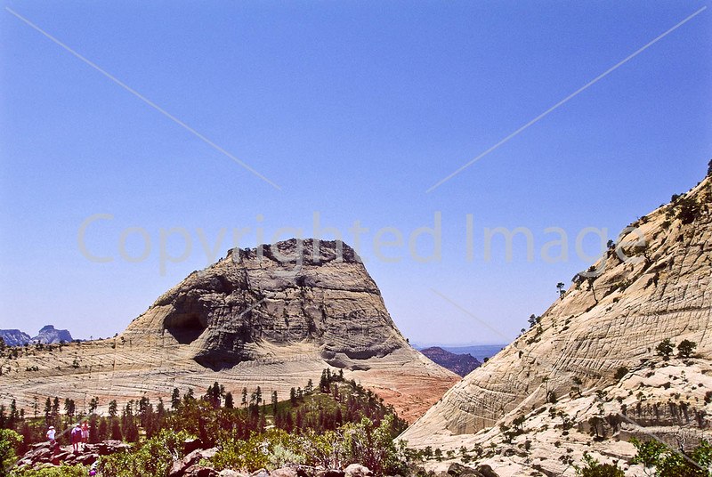 Hikers in Zion National Park, Utah - S11 - 3 - 72 ppi