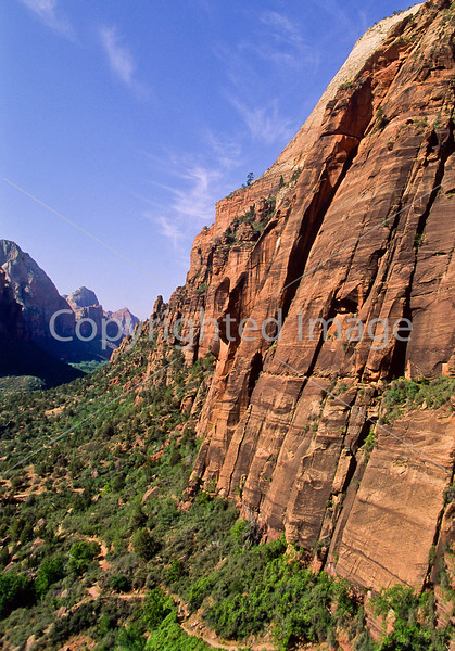 Hikers in Zion National Park, Utah - S11 - 48 - 72 ppi