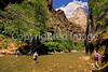 Hikers in Zion National Park, Utah - S11 - 25 - 72 ppi