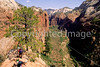 Hikers in Zion National Park, Utah - 2 - 72 dpi