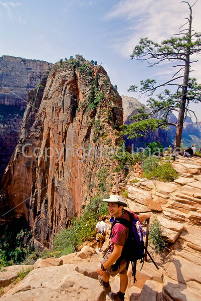 Hikers in Zion National Park, Utah - S11 - 268 - 72 ppi