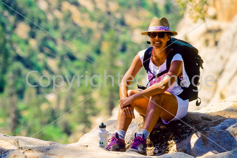 Hikers in Zion National Park, Utah - S11 - 152 - 72 ppi
