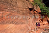 Hikers in Zion National Park, Utah - S11 - 23 - 72 ppi