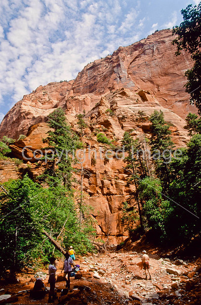Hikers in Zion National Park, Utah - S11 - 266 - 72 ppi