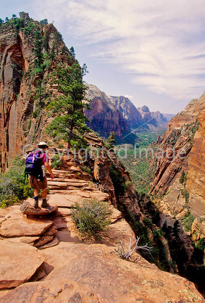 Hikers in Zion National Park, Utah - S11 - 232 - 72 ppi