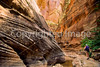 Hikers in Zion National Park, Utah - S11 - 27 - 72 ppi