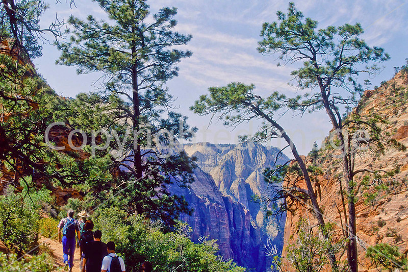 Hikers in Zion National Park, Utah - S11 - 184 - 72 ppi