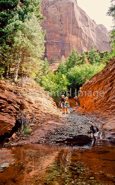Hikers in Zion National Park, Utah - S11 - 169 - 72 ppi