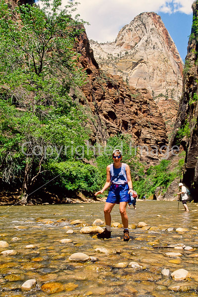 Hikers in Zion National Park, Utah - S11 - 316 - 72 ppi