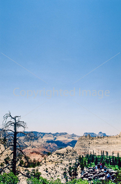 Hikers in Zion National Park, Utah - S11 - 312 - 72 ppi