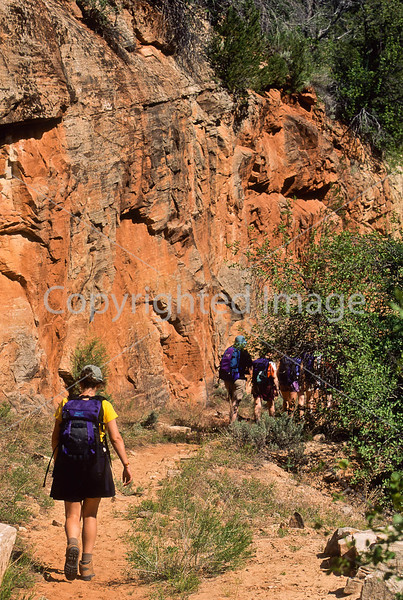 Hikers in Zion National Park, Utah - S11 - 331 - 72 ppi