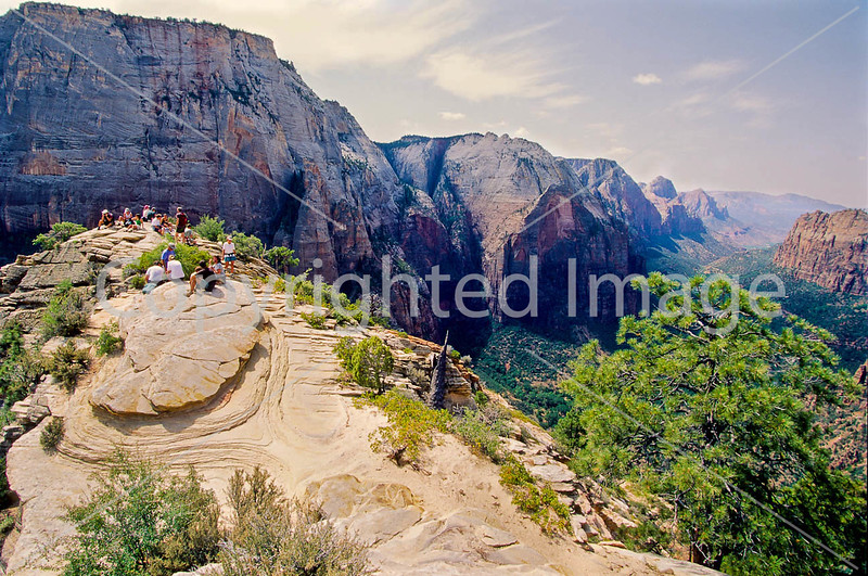 Hikers in Zion National Park, Utah - S11 - 254 - 72 ppi