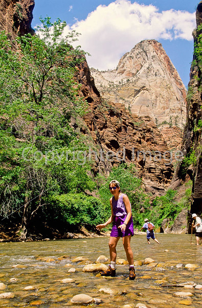 Hikers in Zion National Park, Utah - S11 - 167 - 72 ppi
