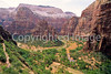 Hikers in Zion National Park, Utah - S11 - 17 - 72 ppi