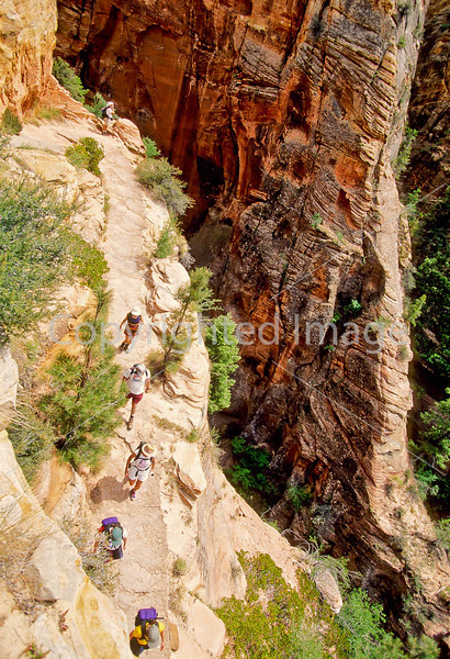 Hikers in Zion National Park, Utah - S11 - 257 - 72 ppi
