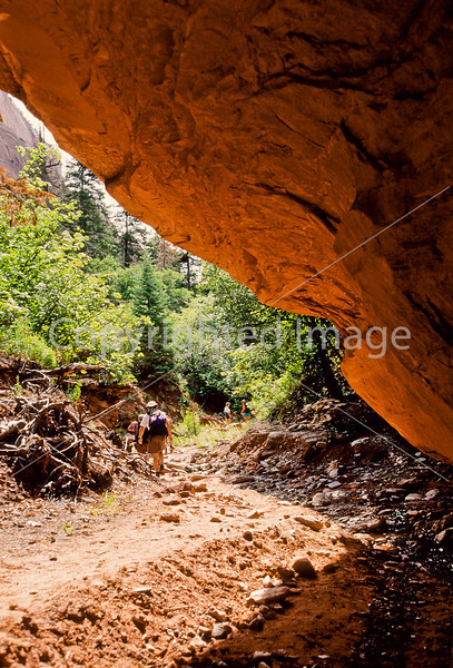 Hikers in Zion National Park, Utah - S11 - 274 - 72 ppi
