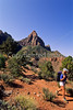 Hikers in Zion National Park, Utah - S11 - 86 - 72 ppi