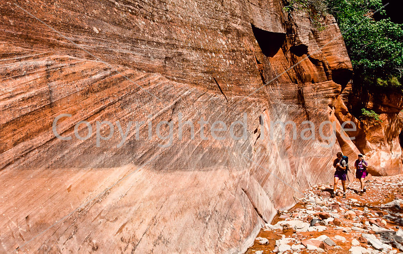 Hikers in Zion National Park, Utah - S11 - 283 - 72 ppi