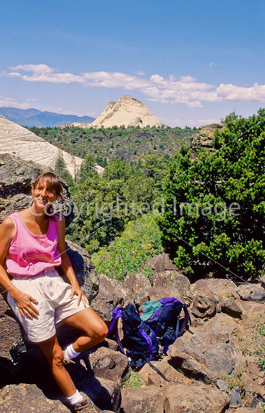 Hikers in Zion National Park, Utah - S11 - 223 - 72 ppi