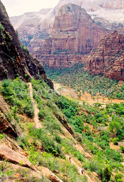 Hikers in Zion National Park, Utah - S11 - 258 - 72 ppi