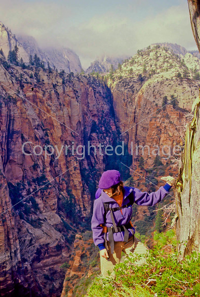 Hikers in Zion National Park, Utah - S11 - 245 - 72 ppi