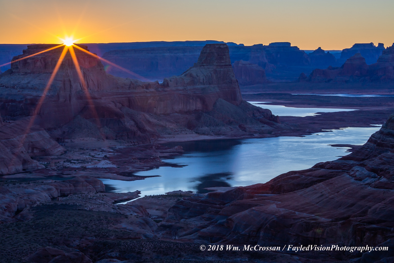 Sunrise from Alstrom Point