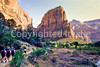 Hikers in Zion National Park, Utah - S11 - 7 - 72 ppi