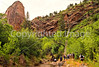 Hikers in Zion National Park, Utah - S11 - 8 - 72 ppi