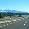 San Francisco Peaks from I-17 in Flagstaff AZ