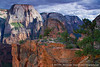 Angels Landing & The Great White Throne, Zion National Park, Utah