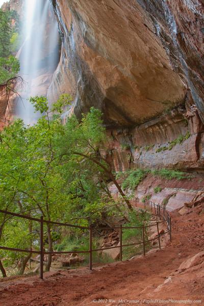 The Emerald Pools, Zion National Park, Utah
