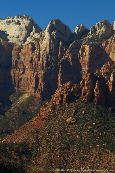 View from Canyon Overlook, Zion National Park, Utah