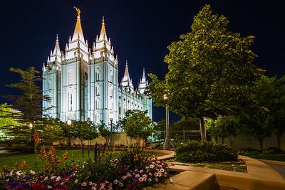 Salt Lake Temple of Church of Jesus Christ of Latter-Day Saint, Salt Lake City, Utah