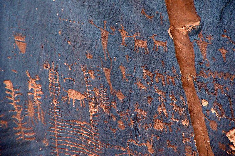 Newspaper Rock, Near Moab, UT