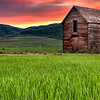 Utah Granary Sunset