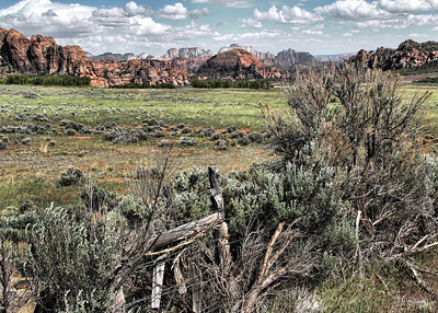 Zion N. P. Scene from Kolob  Road
