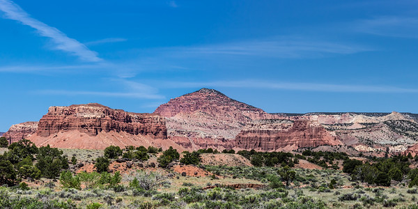 Capitol Reef National Park Panorama