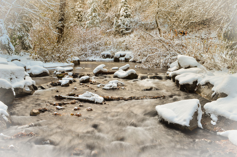 First Snow, Millcreek Canyon