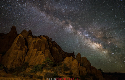 Milky Way near Moab Utah 4