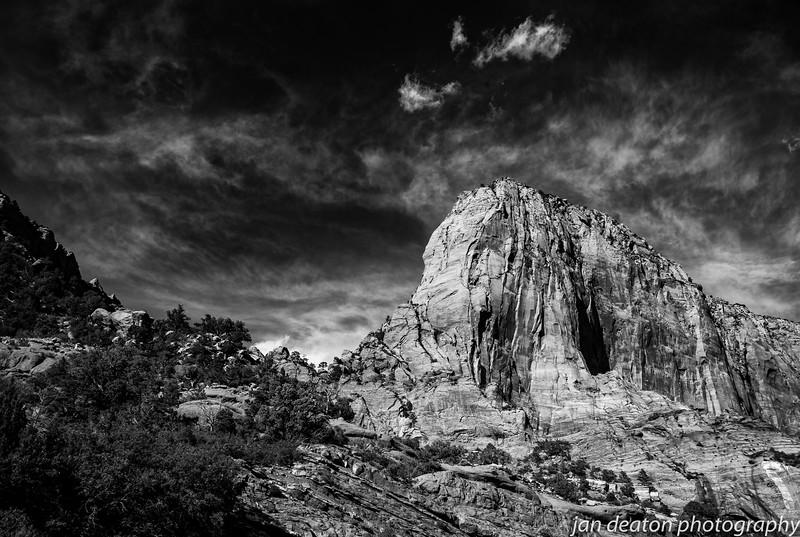 Stone Mountain/B&W